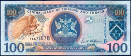 TRINIDAD AND TOBAGO 100 DOLLARS P-51a GREATER PARADISE BIRD CENTRAL BANK E. WILLIAMS FINCOMPLEX OIL PLATFORM 2006 UNC - Trinidad & Tobago