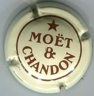 CAPSULE-CHAMPAGNE MOET & CHANDON N°159 -crème & Marron - Moet Et Chandon