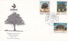 FDC. CAMPAÑA EN FAVOR DEL MEDIO AMBIENTE, PRODENA. ENVELOPE YEAR 1994. BOLIVIA- BLEUP - Bolivia
