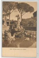 Italie Italia Italy - Roma Villa Medici Fontana Nella Ed Ernesto Richter 1189 - Parks & Gardens