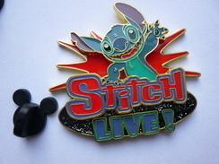 Big Pins Disney STITCH LIVE 5 X 4,5 Cm Double Moule Neuf - Disney