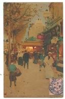 1905, France, Paris, Boulevard De L'Hopital. Luigi Loir Printed Art Pc, Used. - Loir