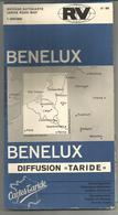 Carte Routière  TARIDE N° 86 : BENELUX, Au 1:500.000 - Cartes Routières