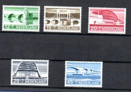 Pays Bas  / Série  N 866 à 870 /    NEUFS ** - Neufs