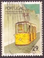 Portugal 1989 - Transportes De Lisboa /Usado 29$00 - Oblitérés