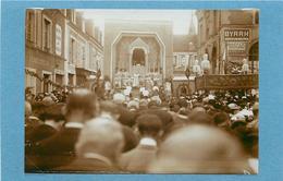 BONNETABLE (sarthe)- Congrès Eucharistique, Juin 1933( Photo Format 11,5cm X 8,2cm). - Lieux
