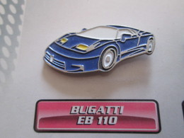 210c Pin's Pins / Beau Et Rare : Thème AUTOMOBILES : BUGATTI EB 110 - Other