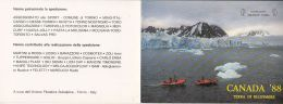 CPA ELLESMERE ISLAND- ARCTIC ISLAND, BOATS, GRANDE NORD ASSOCIATION, 2 PARTS FOLDED - Nunavut
