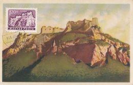 SIROK FORTRESS, CM, MAXICARD, CARTES MAXIMUM, 1961, HUNGARY - Maximumkarten (MC)