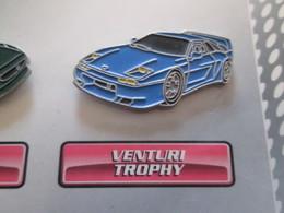 210c Pin's Pins / Beau Et Rare : Thème AUTOMOBILES : VENTURI TROPHY - Badges