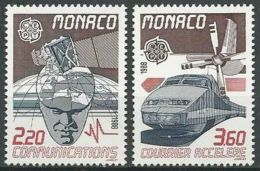 MONACO 1988 Mi-Nr. 1859/60 ** MNH - CEPT - Europa-CEPT