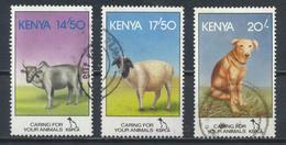 °°° KENYA - Y&T N°601/3 - 1995 °°° - Kenya (1963-...)