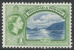 Trinidad & Tobago. 1953-59 QEII. 1c MH. SG 267 - Trinidad & Tobago (...-1961)