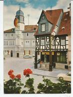 CP ALZEY (Rhénanie - Allemagne) Rathaus, Deutsches Haus Und Volkerbrunnen - Alzey