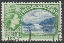 Trinidad & Tobago. 1953-59 QEII. 1c Used. SG 267 - Trinidad & Tobago (...-1961)