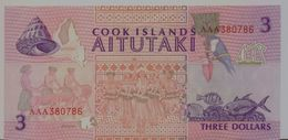 COOK ISLANDS  P. 7a 3 D 1992 VF - Islas Cook