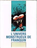 CP - 8 Cartes Dans Leur Pochette - L'Univers Monstrueux De Franquin - Spirou 1989 - Illustratoren & Fotografen