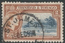 Trinidad & Tobago. 1953-59 QEII. 2c Used. SG 268 - Trinidad & Tobago (...-1961)
