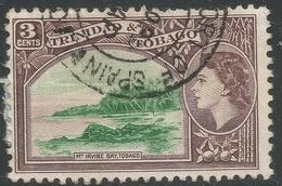 Trinidad & Tobago. 1953-59 QEII. 3c Used. SG 269 - Trinidad & Tobago (...-1961)