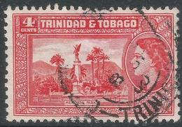 Trinidad & Tobago. 1953-59 QEII. 4c Used. SG 270 - Trinidad & Tobago (...-1961)