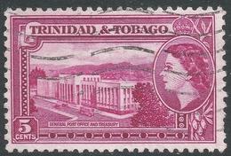 Trinidad & Tobago. 1953-59 QEII. 5c Used. SG 271 - Trinidad & Tobago (...-1961)