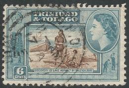 Trinidad & Tobago. 1953-59 QEII. 6c Used. SG 272 - Trinidad & Tobago (...-1961)