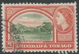 Trinidad & Tobago. 1953-59 QEII. 8c Used. SG 273 - Trinidad & Tobago (...-1961)