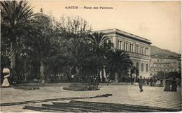 CORSE - AJACCIO - La Place Des Palmiers - Rare - Très Bon état - Ajaccio