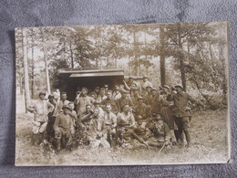 Carte-photo Mulhouse Militaires Bitche Oberhoffen - To Identify