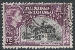 Trinidad & Tobago. 1953-59 QEII. 12c Used. SG 274 - Trinidad & Tobago (...-1961)