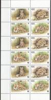E1428 1999 KYRGYZSTAN WWF FAUNA WILD ANIMALS FOX 3SET MNH - W.W.F.