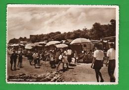 Manfredonia Foggia Spiaggia Animata Cpa 1955 - Manfredonia