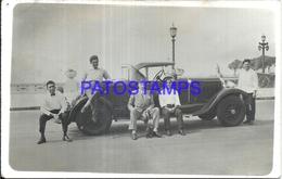100073 AUTOMOBILE OLD CAR AUTO COUPE AND MAN'S POSTAL POSTCARD - Ansichtskarten