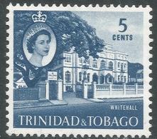 Trinidad & Tobago. 1960-67 QEII. 5c MH. SG 286 - Trinidad & Tobago (...-1961)