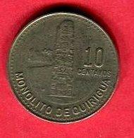 10 CENTAVOS (KM 277/5) TB+ 4 - Guatemala