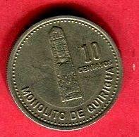 10 CENTAVOS (KM 277/6) TB+ 2 - Guatemala