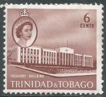 Trinidad & Tobago. 1960-67 QEII. 6c MH. SG 287 - Trinidad & Tobago (...-1961)