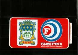 Autocollant  -     REIMS    FAMIPRIX - Stickers