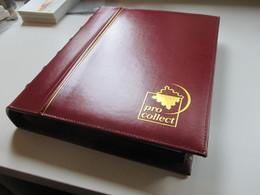 Gr. Ringbinder Mit Vielen Hundert Marken Europa Ab Semiklassik! Überwiegend Gestempelt! Niederlande Block 1 ** Fundgrube - Collections (with Albums)