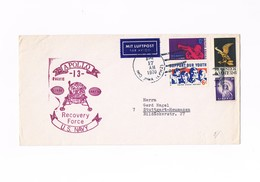 United States - Stati Uniti - Storia Postale - Apollo 13 Recovery Force U.S.Navy - 1970 - Vereinigte Staaten