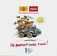 Autocollant  -     WHISKAS PEDIGREE      Ils Partent Avec Nous ! - Stickers