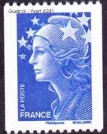 France Roulette N° 4241 **  Marianne De Beaujard Gommé Bleu TVP Europe  20 Grammes, Pour La CEE Le Bleu - Rollen