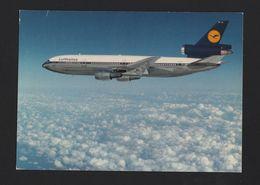 1970s POSTCARD AIRLINE ISSUE LUFTHANSA DC-10 PLANE AIRPLANE AIRCRAFT GERMANY Z1 - 1946-....: Modern Era