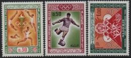 "Algeria/Algerie - 1968 Olympic Games-Jeux Olympiques ""Mexico"" (Football-Athletics/Athlétisme-Basket) ** - Algerije (1962-...)"
