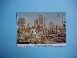SAN DIEGO  -  From Broadway Pier  -  California  -  Etats Unis - San Diego