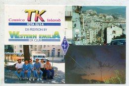 QSL Cards - AK 332455 France - Corsica Island - Radio-amateur