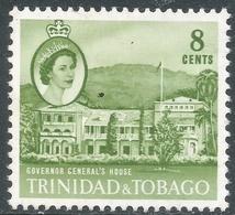 Trinidad & Tobago. 1960-67 QEII. 8c MH. SG 288 - Trinidad & Tobago (...-1961)
