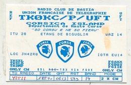 QSL Cards - AK 332456 France - Corsica Island - Radio-amateur