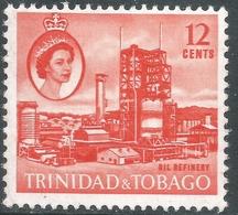 Trinidad & Tobago. 1960-67 QEII. 12c MH. SG 290 - Trinidad & Tobago (...-1961)