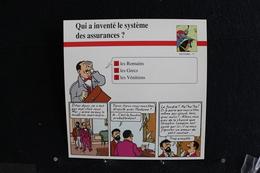Fiche Atlas, TINTIN (extrait De,L'Affaire Tournesol) - Histoire N°71.Qui Inventé Le Système Des Assurances ? - Collections